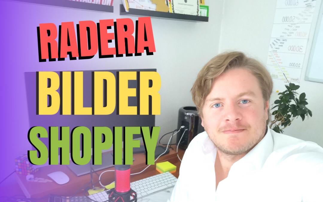 Hur man raderar bilder from Shopify biblioteket